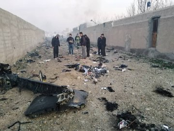 Ukrainian plane crash in Tehran 3.
