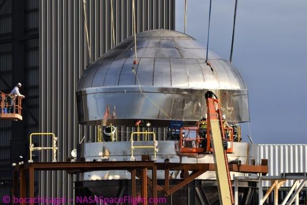 Explozívne ale úspešné testovanie nádrže Starshipu