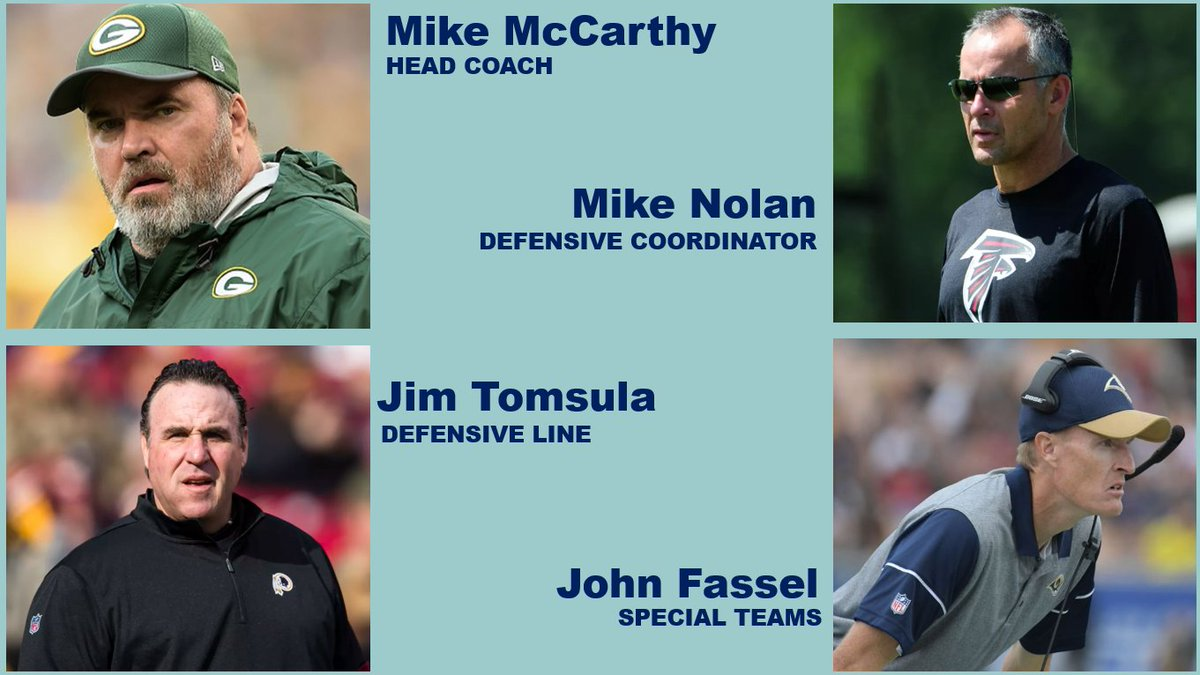 "Mike McCarthy Is Building A ""Superstar"" Coaching Staff In Dallas"