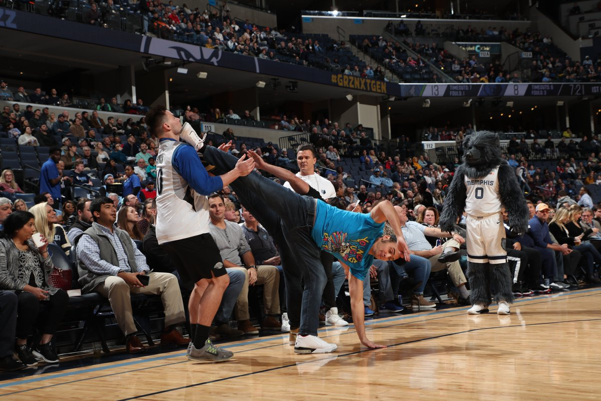 Young Bucks Appear At Memphis Grizzlies Game (Video)