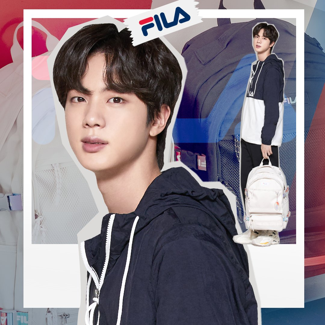 BTS Jin Jadi Brand Ambassador FILA Global