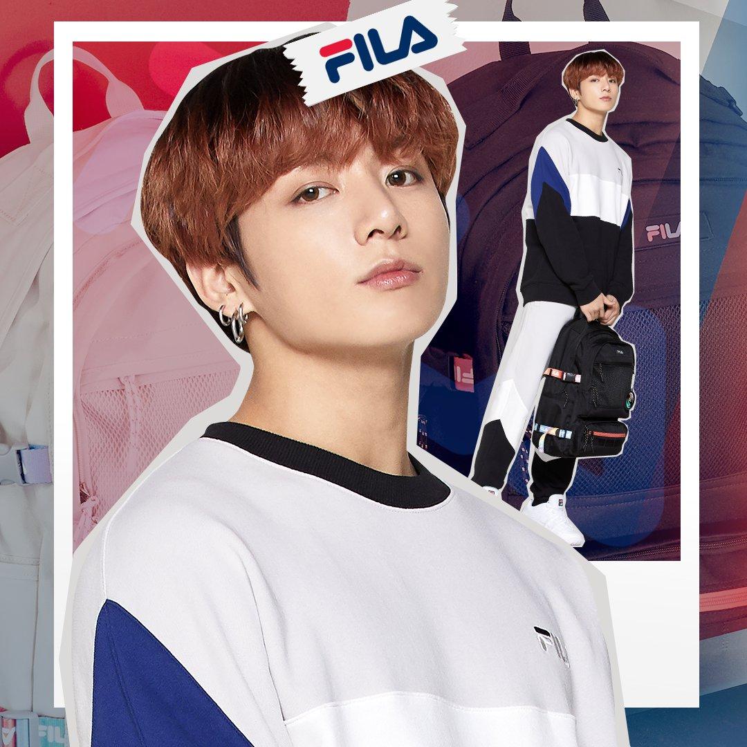 BTS Jungkook Jadi Brand Ambassador FILA Global