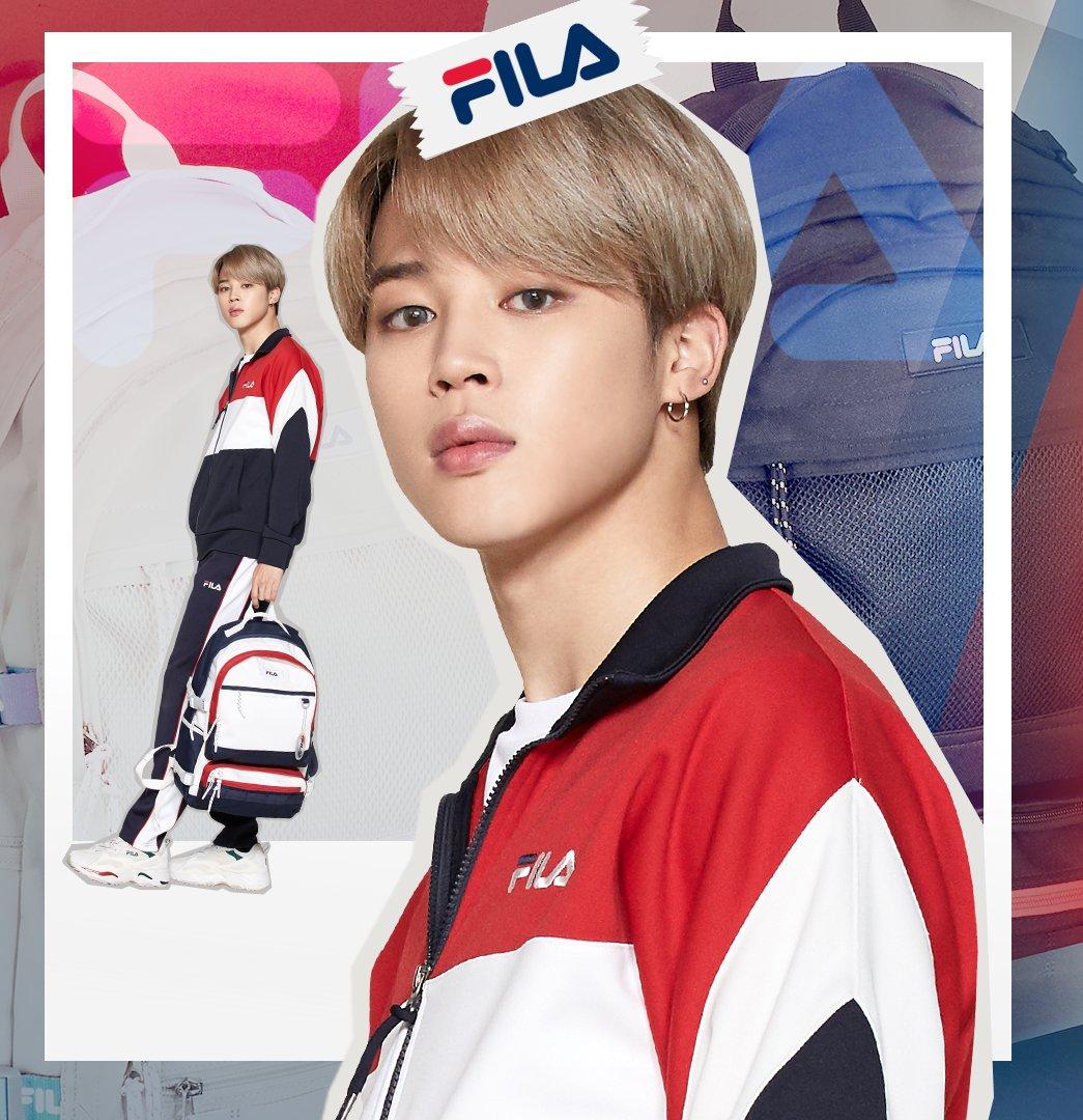 BTS Jimin Jadi Brand Ambassador FILA Global