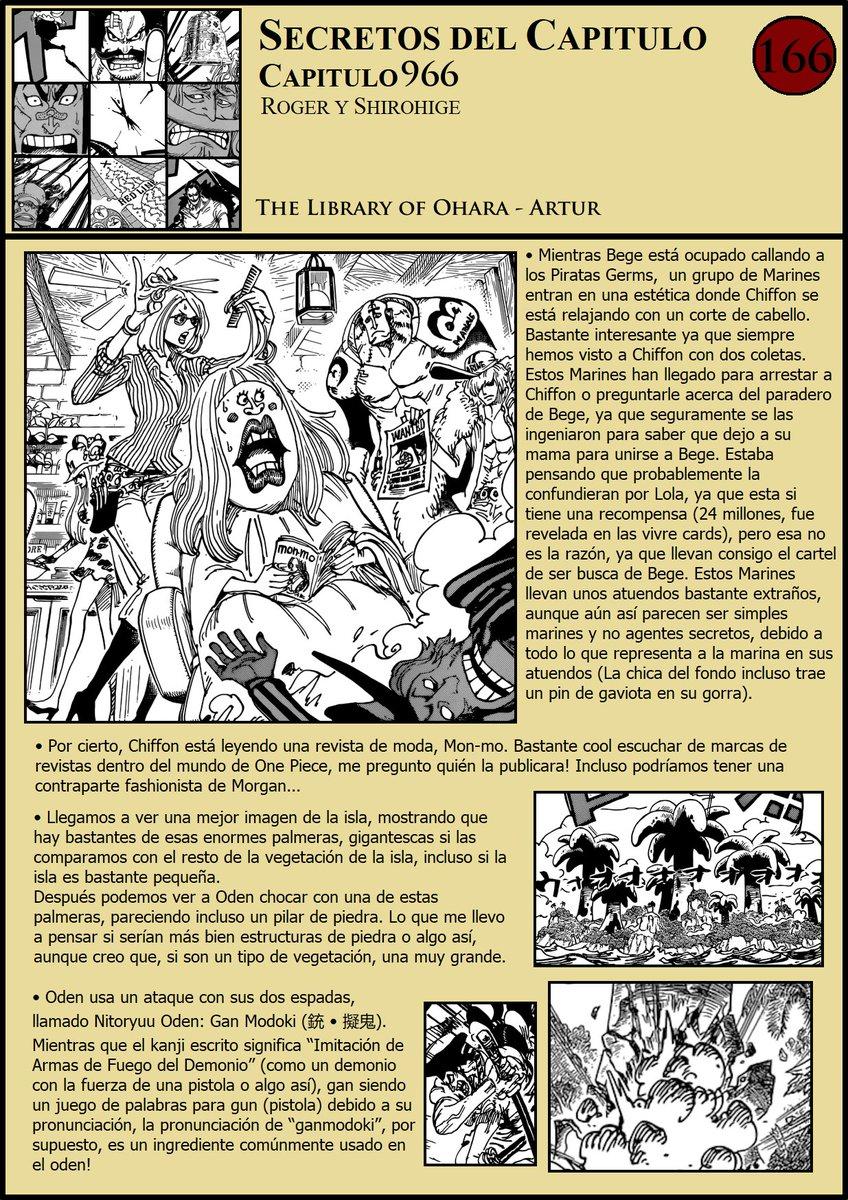 Secretos & Curiosidades - One Piece Manga 966 ENuTk8gW4AAcNyt