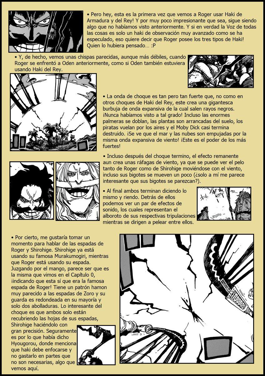 Secretos & Curiosidades - One Piece Manga 966 ENuTk8gX0Ass9O4