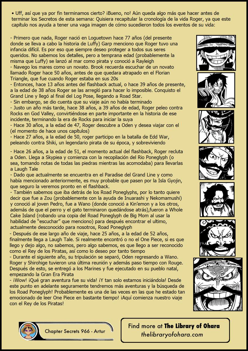 Secretos & Curiosidades - One Piece Manga 966 ENuUPWfW4AEtG2Z