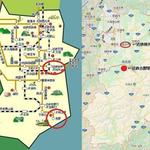 奈良県の公式サイトに載っている路線図がデフォルメしすぎて批判殺到!
