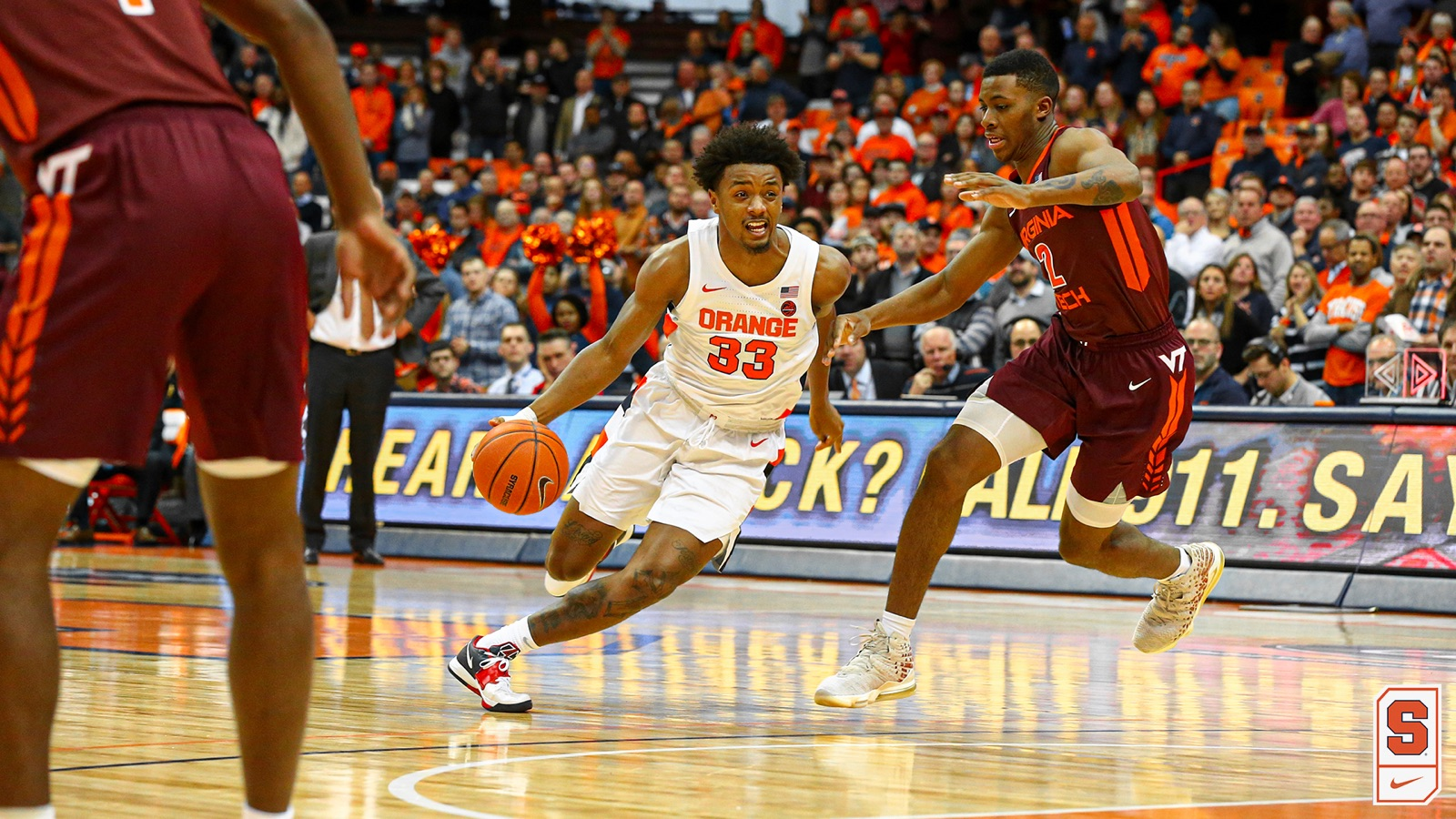 Syracuse Blows Lead In Second Half Falls To Virginia Tech