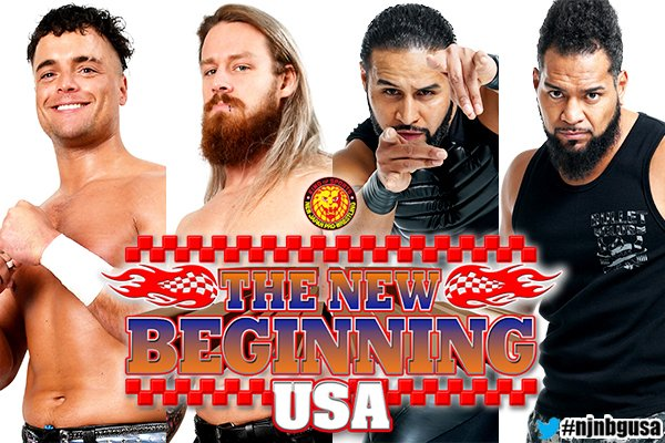 NJPW Announces IWGP Tag Team Championship Match For New Beginning USA