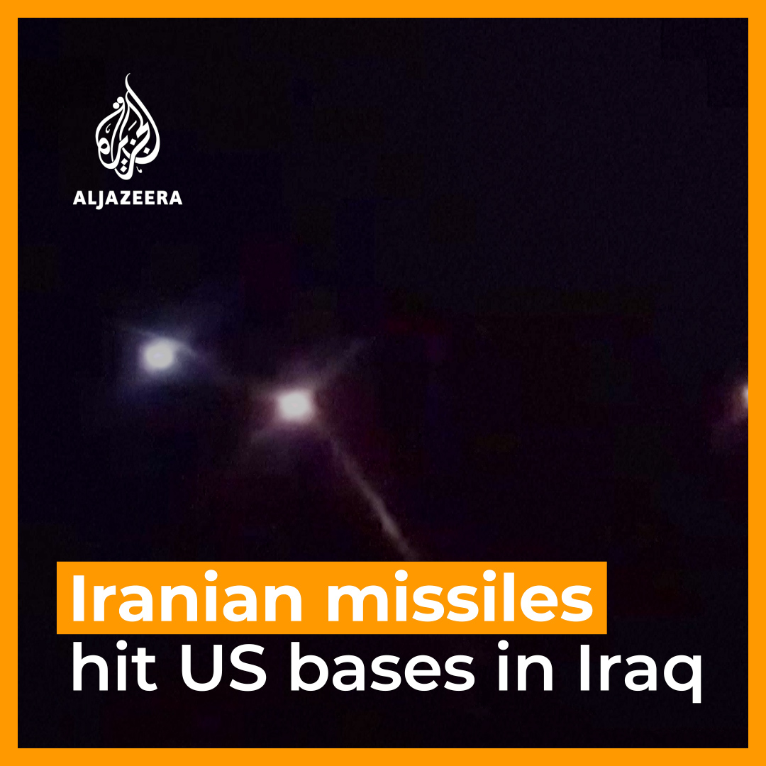 Iran has launched missile attacks on US forces in Iraq, in retaliation to the killing of General Qassem Soleimani. https://t.co/oXFTYZPUdc