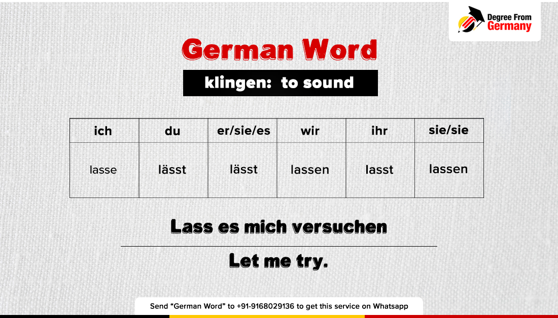 Improve your German vocabulary.Learn German the easy way with DegreefromGermany!  #Wednesdaywisdom #germanword #Germanvocabulary #studyingermany #Studyabroad #degreefromgermanypic.twitter.com/bvyKtUyQ5i