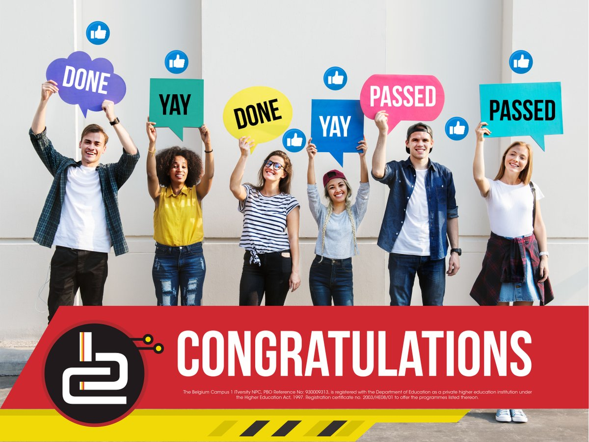 #congratulations to the 2019 matriculants for achieving a matric #pass rate of 81.3%, the highest recorded in the last 25 years! We look forward to receiving your exceptional results so that we can introduce to the #innovative world of #IT and its endless possibilities.pic.twitter.com/mlRSygRIIQ