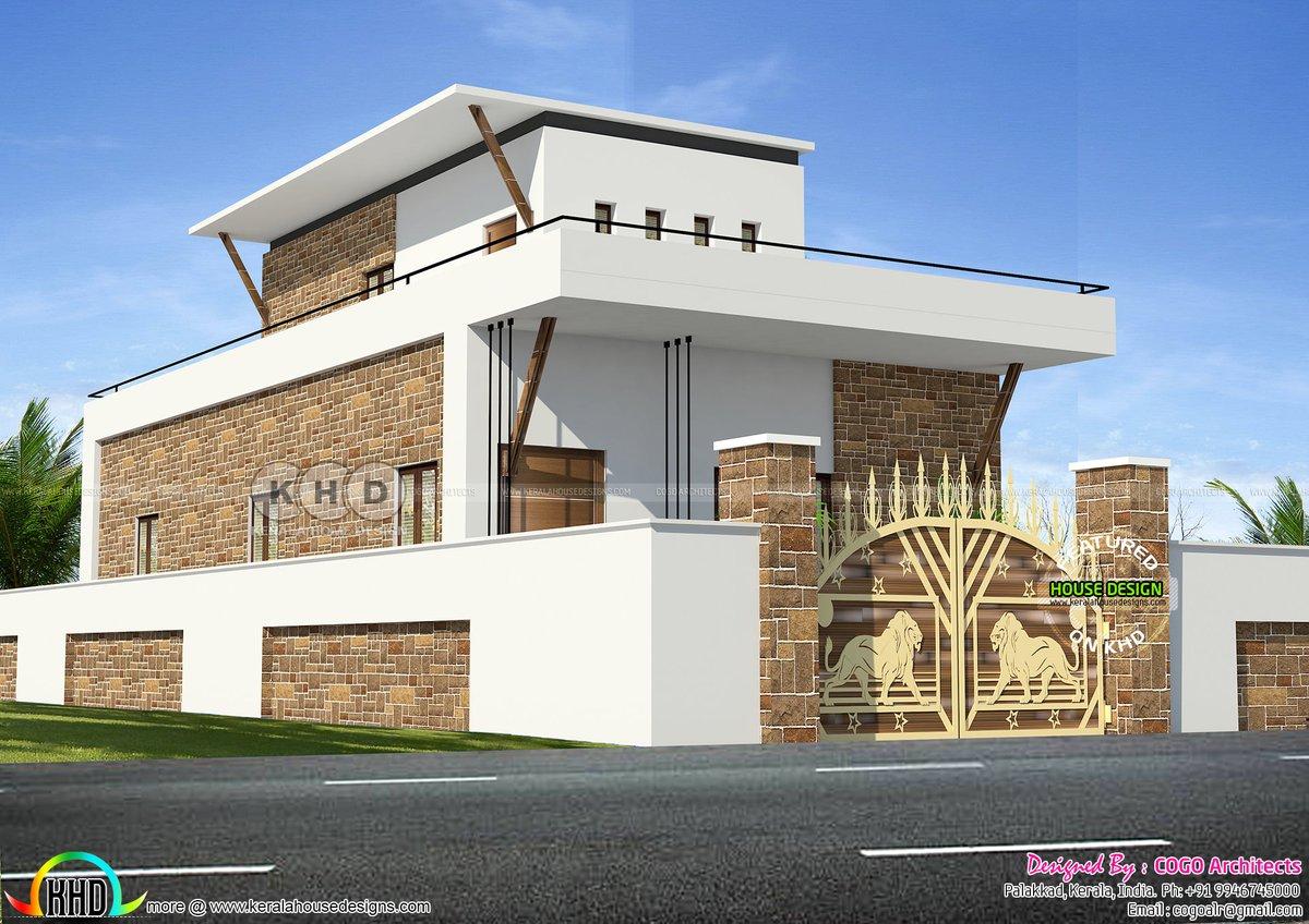 Kerala Home Design Khd On Twitter Tamilnadu Style Single Floor Budget Home Https T Co Cysmnpqqgx
