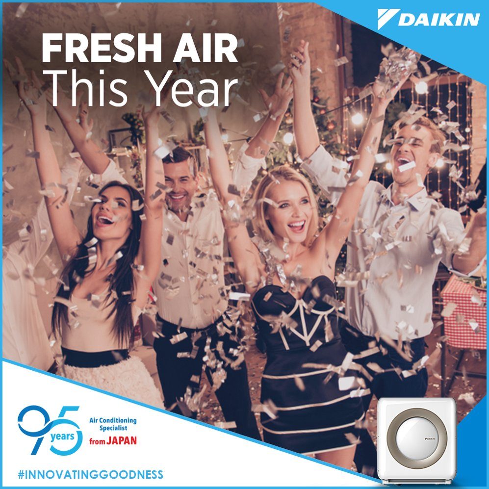 This year, celebrate clean air and win over indoor pollution with a Daikin air purifier. InnovatingGoodness https t