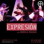Image for the Tweet beginning: Módulo #EXPRESIÓN con Rebeca Roldán.