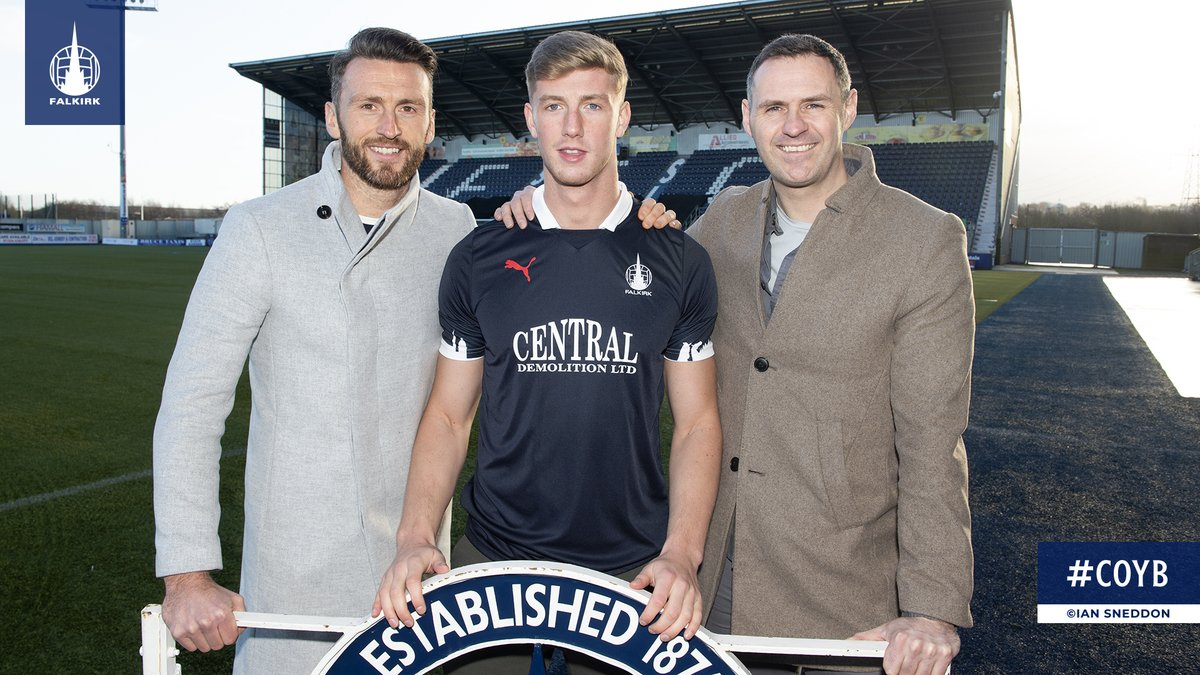 ✍️ Falkirk FC is delighted to announce the signing of defender, Ben Hall. 👉 falkirkfc.co.uk/2020/01/08/bai… #COYB
