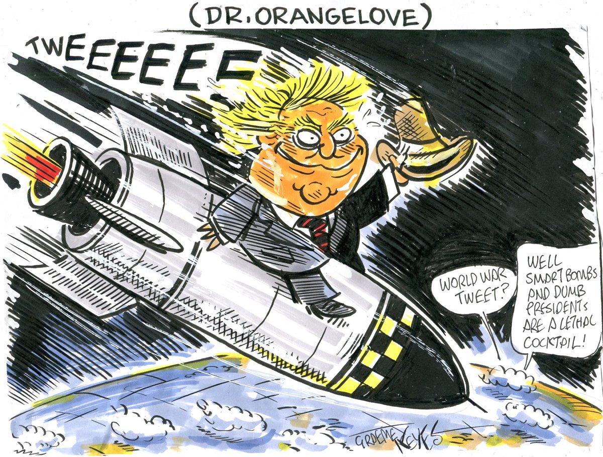 trump political cartoons 2020