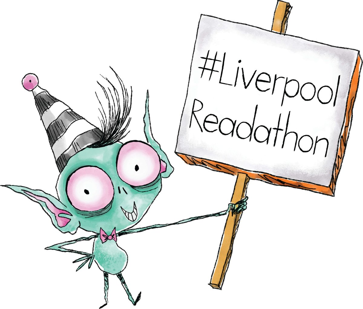 Have you signed up for the #LiverpoolReadathon running from 2-13 March? Schools reading together to raise money to buy books and fund storytellers for children in @AlderHey. readforgood.org/liverpool #LiverpoolReads