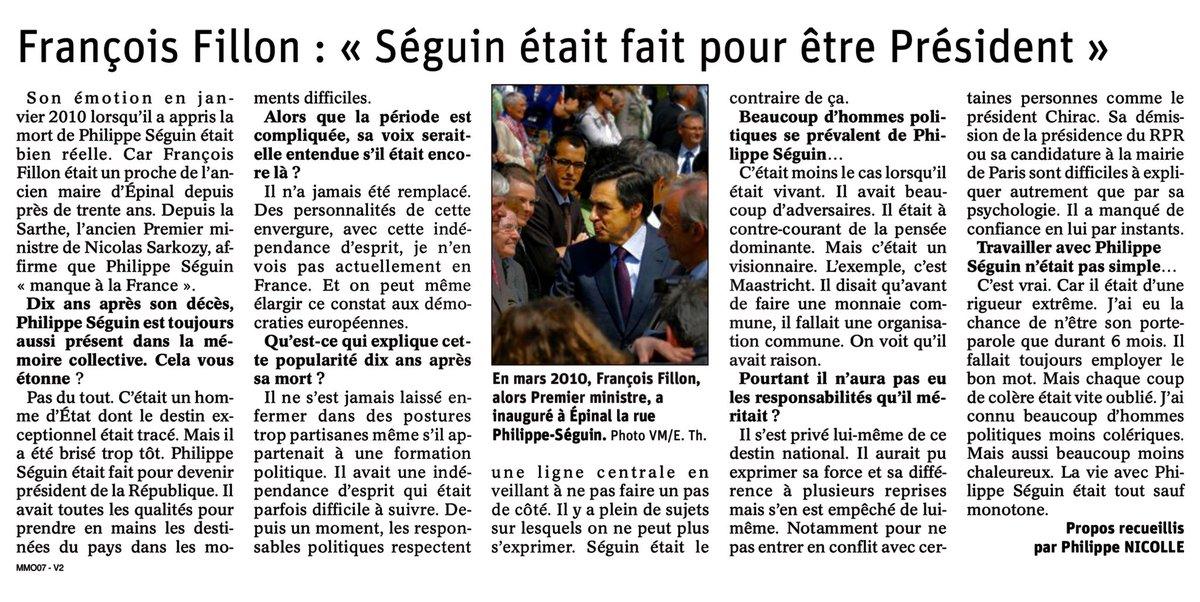 Philippe Séguin manque à la France. Entretien @VosgesMatin https://t.co/SYUOAsvhVw
