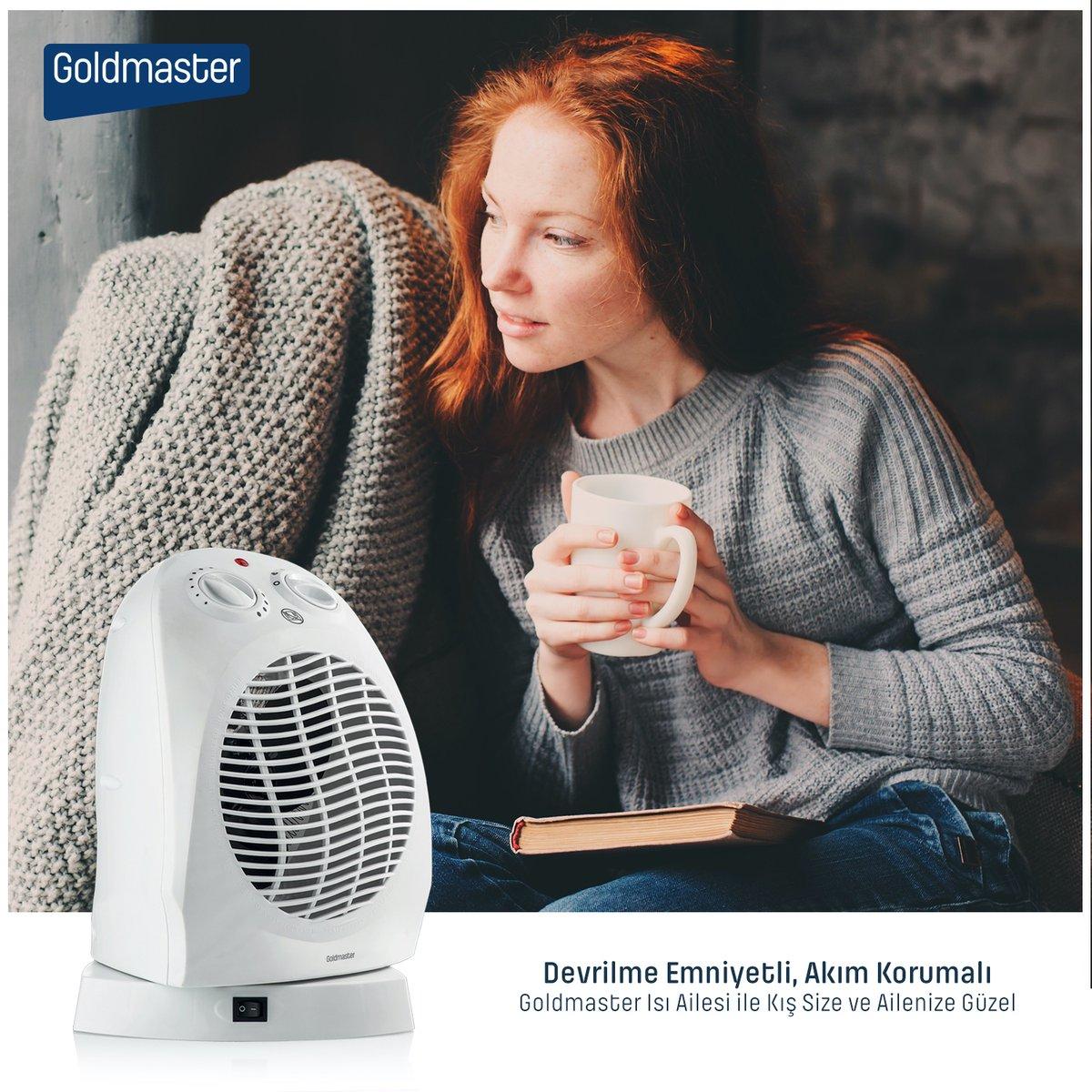 Evin her köşesinde, hatta iş yerlerinizde bile kolaylıkla kullanacağınız, kullanım kolaylığı sağlayan fanlı Mars ısıtıcılar ile sıcağa doyacaksınız… #goldmaster #ısıtıcı #fan #fanlıısıtıcı #kampanya #indirim #fırsat https://t.co/viP8bce3ZT