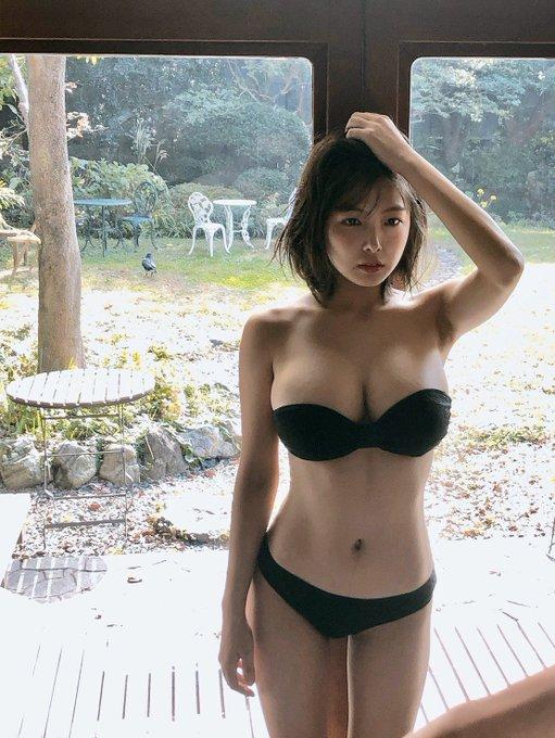 グラビアアイドル寺本莉緒のTwitter自撮りエロ画像6