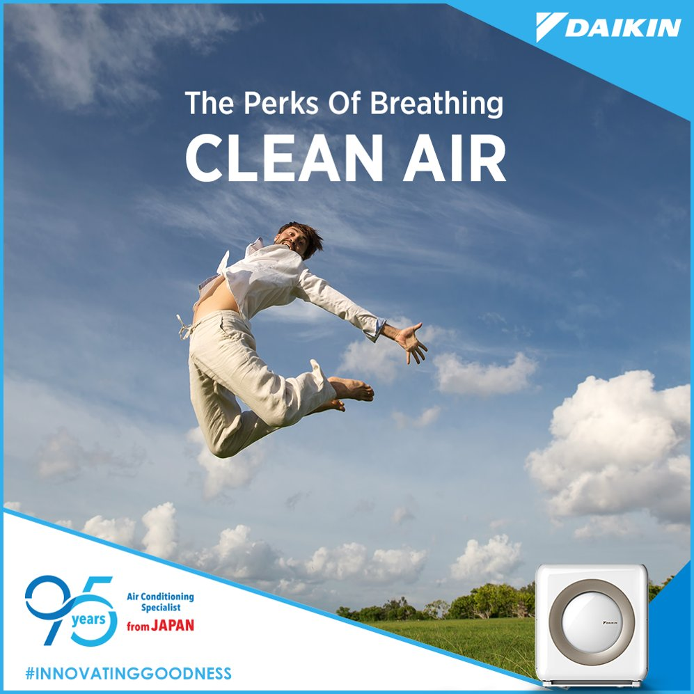 When you breathe clean air at home, youll be full of energy wherever you go. InnovatingGoodness https t.co 6NFMgZuiWE