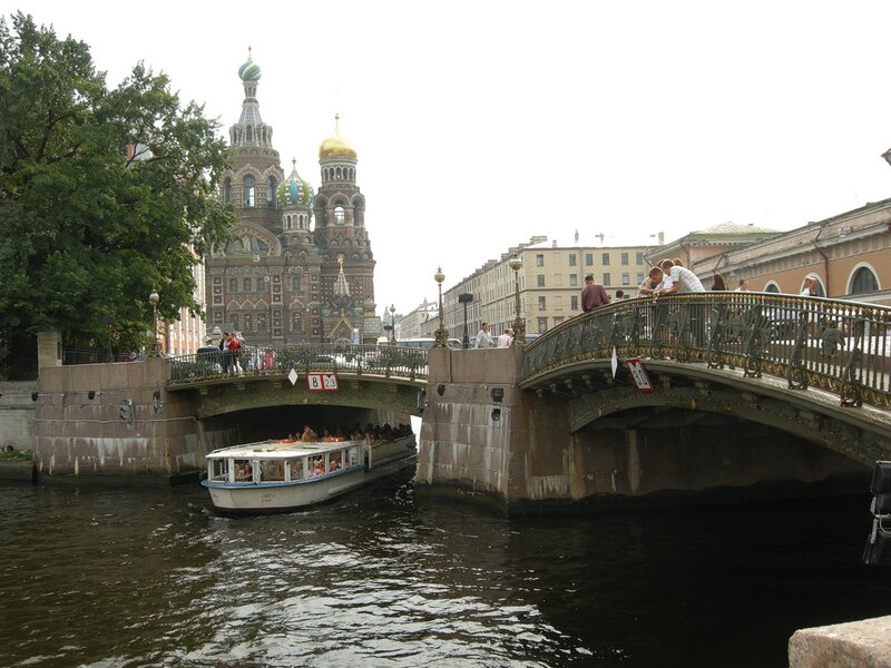 фото тройного моста в спб трёх