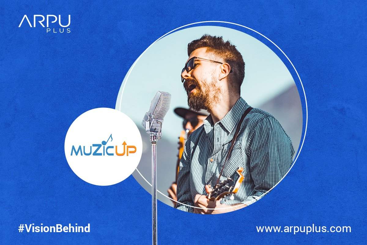 We have launched MuzicUp for artists!   The vision behind MuzicUp is to empower all artists; connecting them with the most innovative solutions in the accelerating digital world of music.  Join MuzicUp now: https://t.co/ANuAEQnQOX  #MuzicUp #PoweredByArpuPlus #VisionBehind https://t.co/YqBdikIcNM