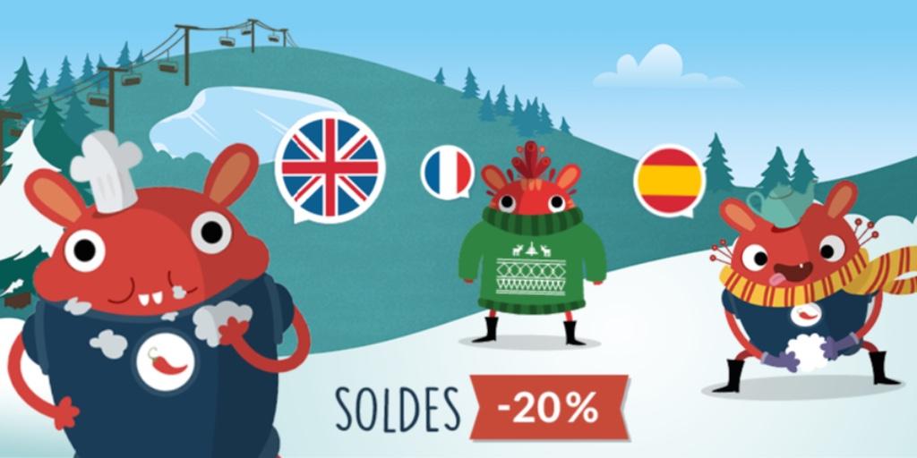 Pili Pop participe aux soldes d'hiver 🌶️ Profitez de notre offre : -20% sur votre abonnement à notre application 🔥  #Offre #Soldes #Hiver #Langues #Appli #PiliPop https://t.co/8vTUQK43zw