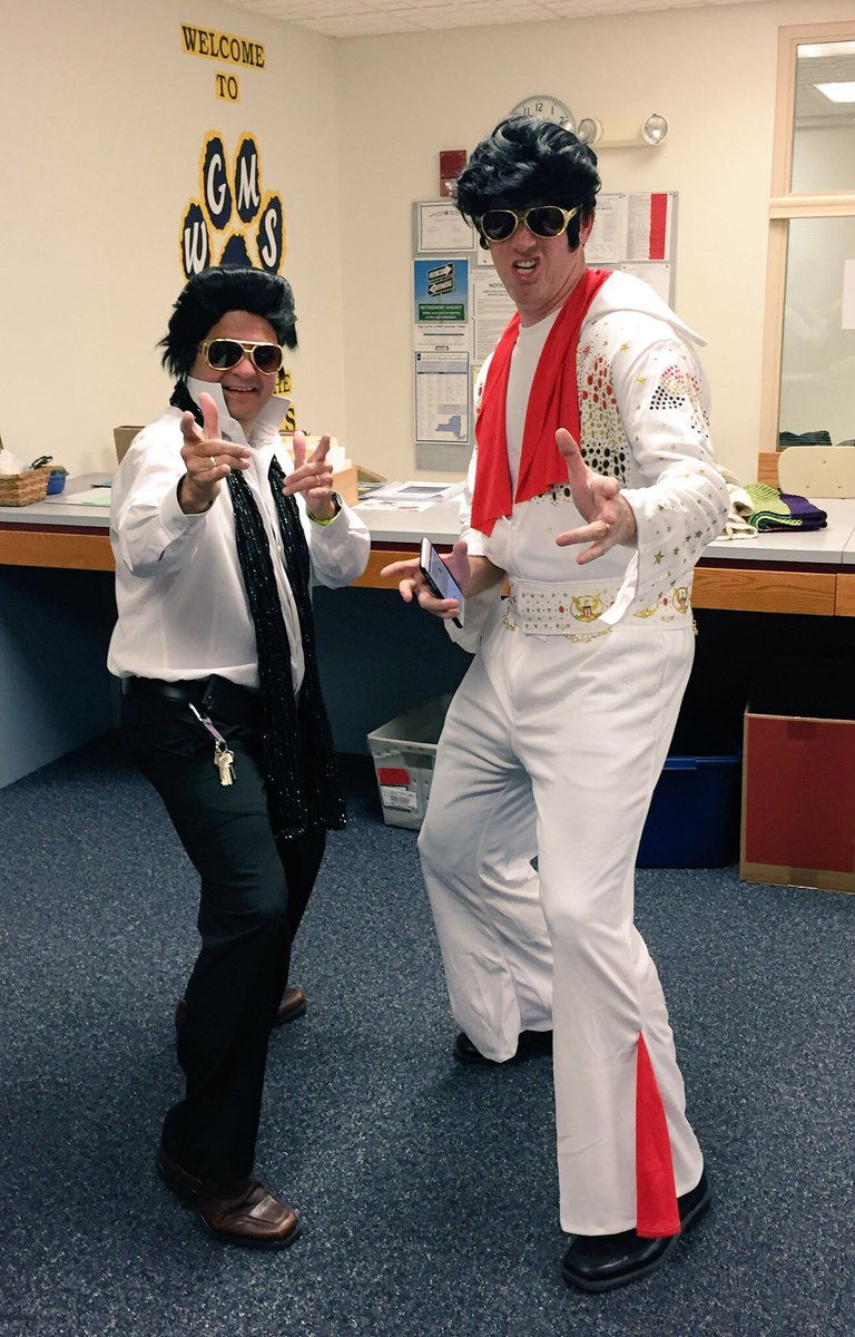 Good morning & happy Wednesday! We have had 45 Presidents, but only 1 King 👑. Happy Birthday Elvis! @WestGeneseeCSD