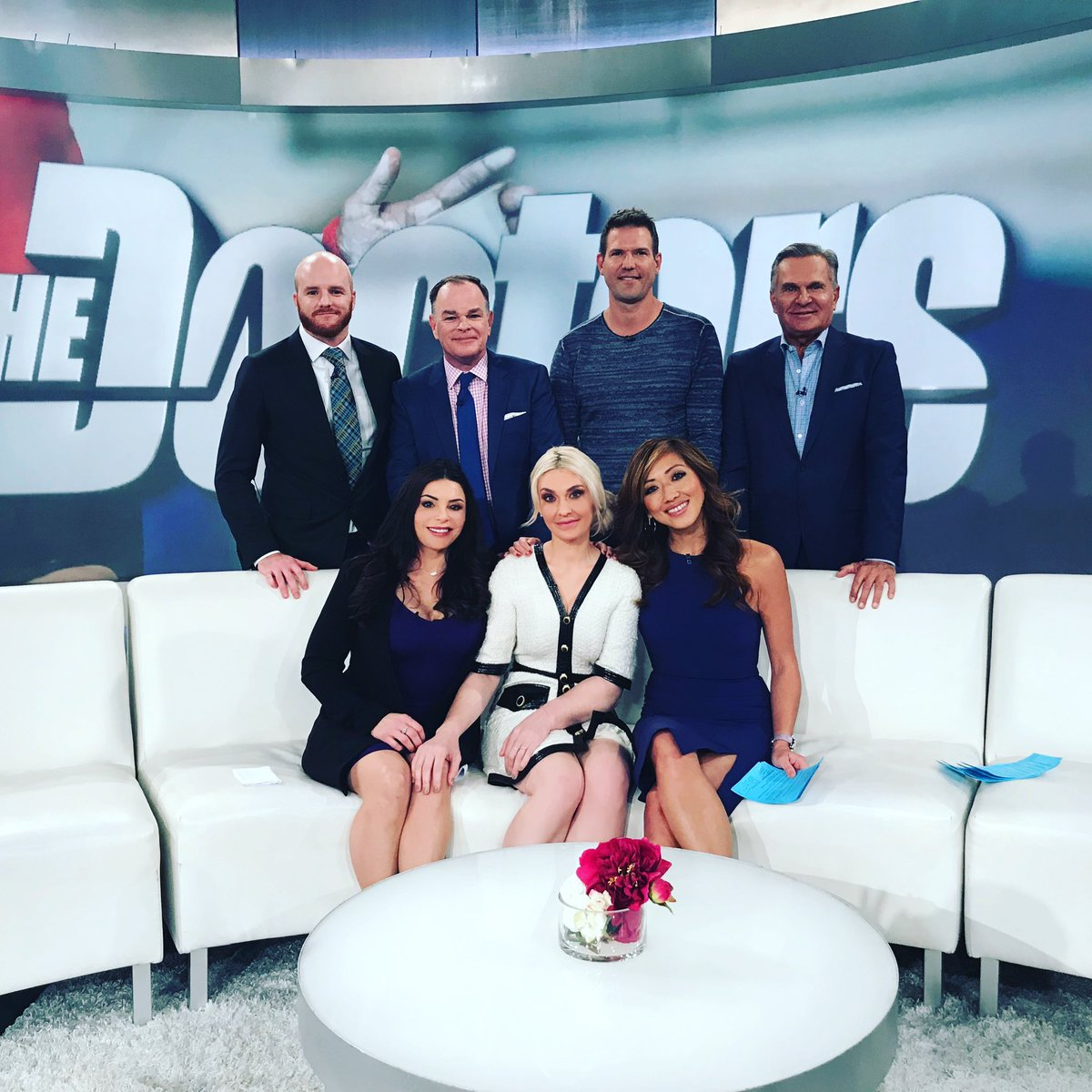 @TheDoctors Jan 14. #StartByBelieving