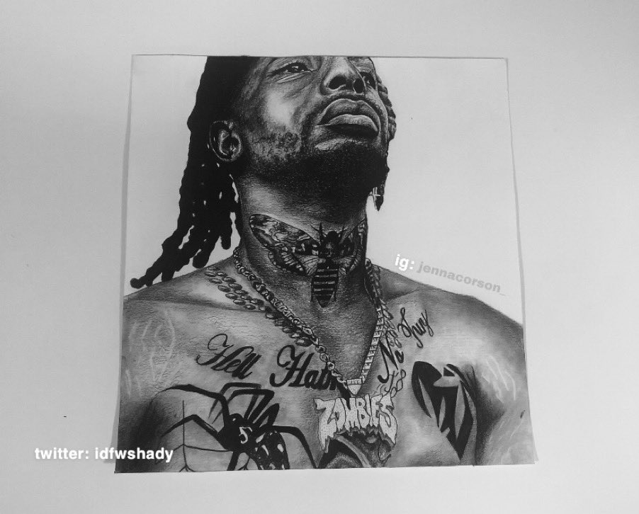 still my favourite drawing ive done, completed in a day.   all pencil. @MeechIsDEAD #art #fanart