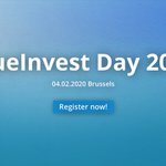 Image for the Tweet beginning: 🔉 #BlueInvest Day 2020 will