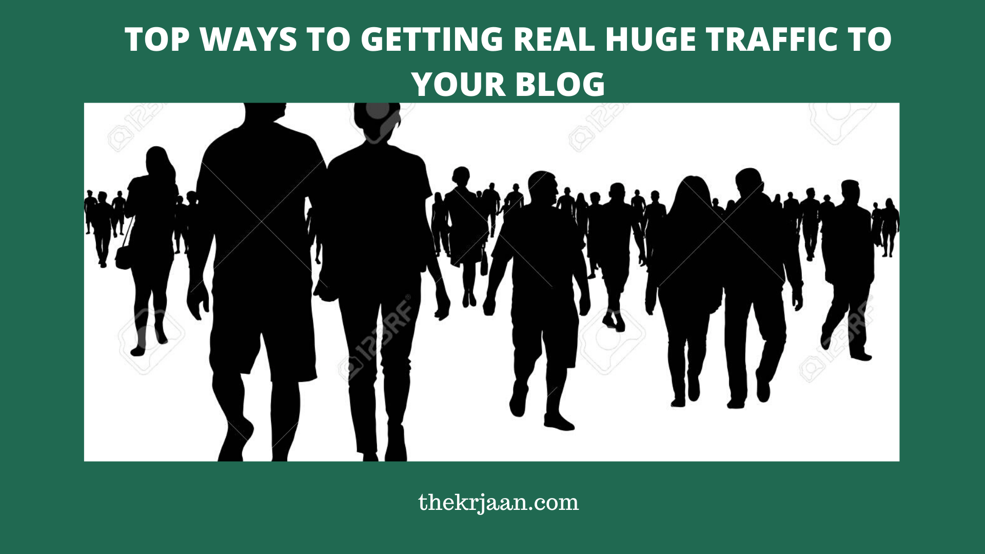 Top Ways To Getting Real Huge Traffic To Your Blog