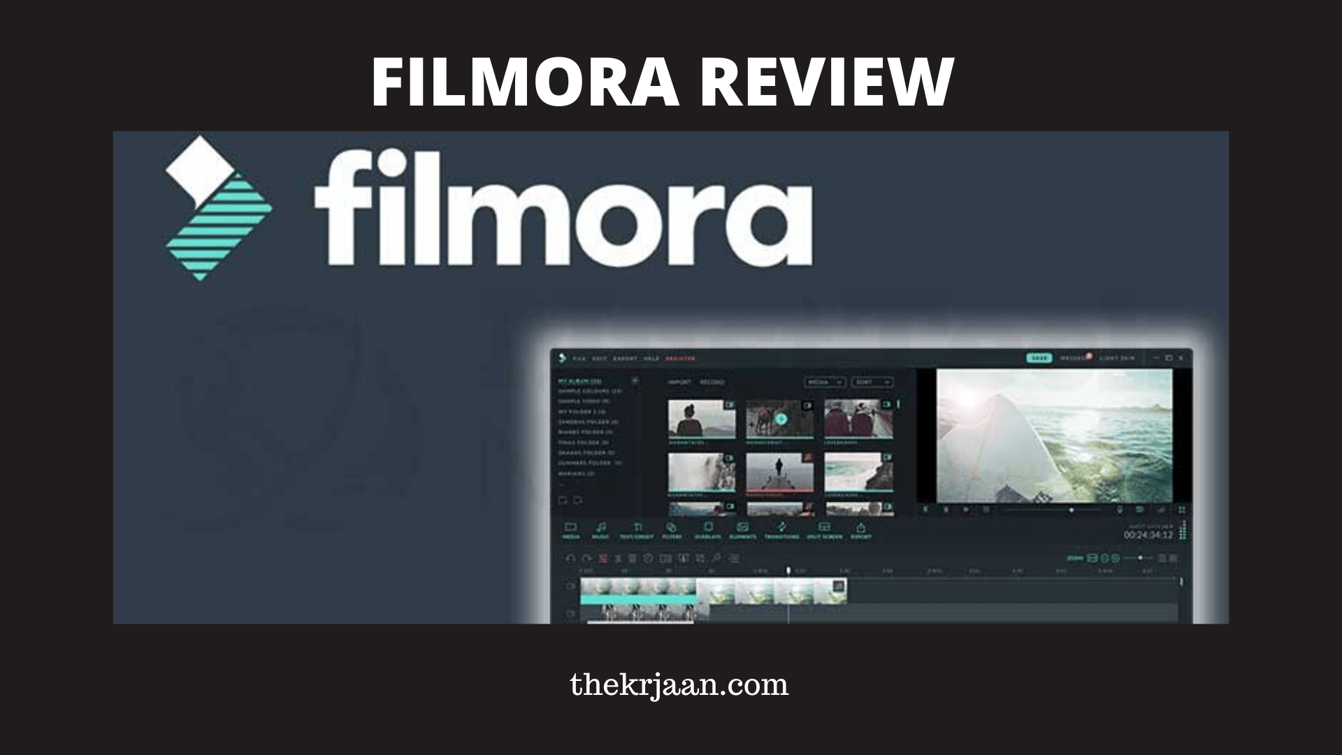 Filmora Review | Filmora Price , Features & Benefits
