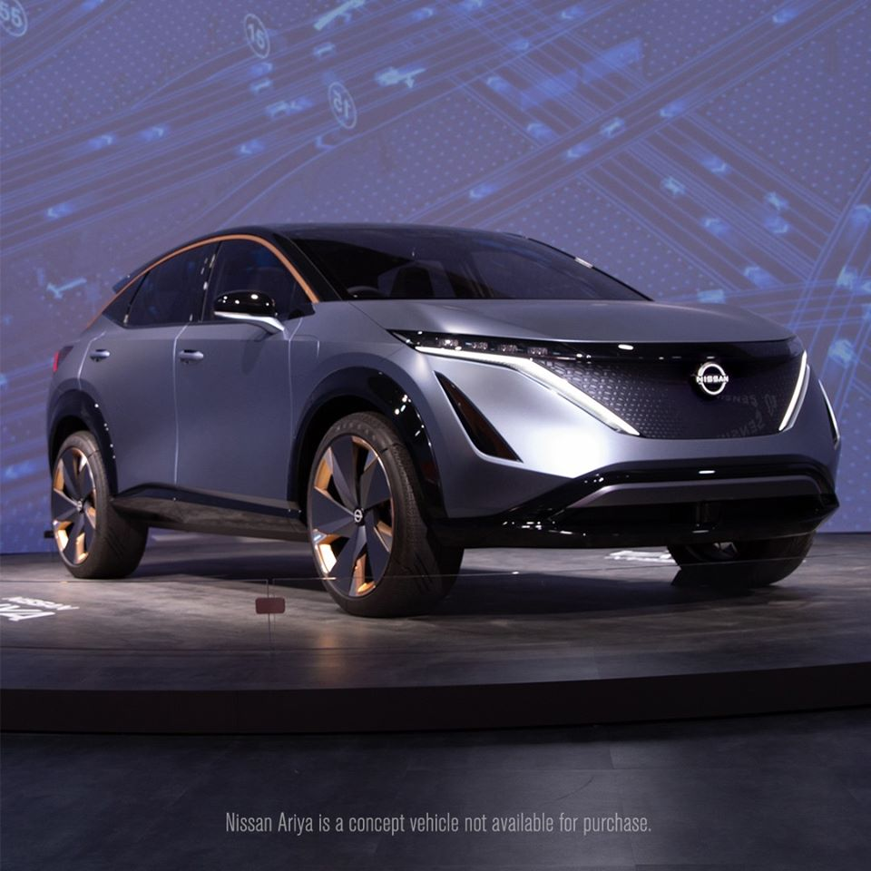The next chapter of Nissan Intelligent Mobility on display at #CES2020 - The Nissan Ariya Concept. https://t.co/x8X6caoOkx