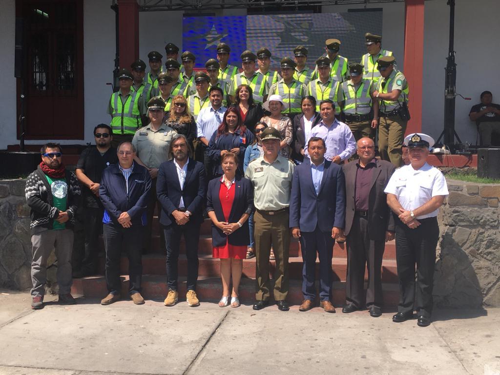 AHORA: Gobernadora @galeb_bou da inicio al Plan #VeranoSeguro2020, junto a @CarabIIIRegion y @MuniHuasco. La seguridad pública en nuestra Provincia es tarea de todos. #ChileSeguro #ChileEnMarcha https://t.co/umcTEXj8Mx