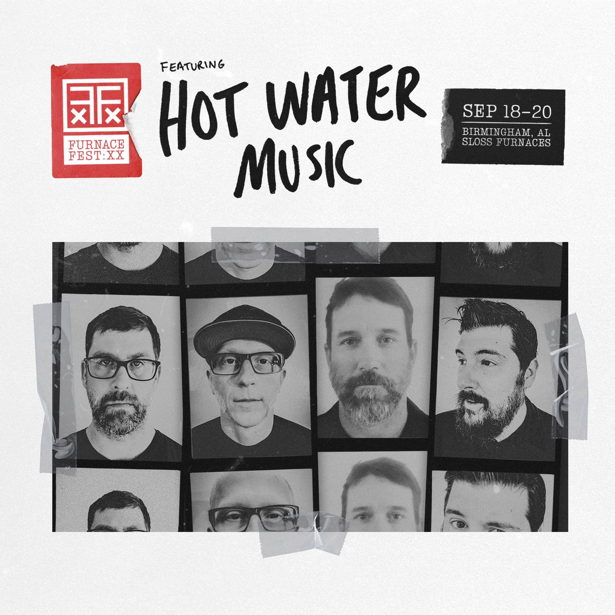 Welcome to the party @HotWaterMusic @knockedloose @bttroff @syscband