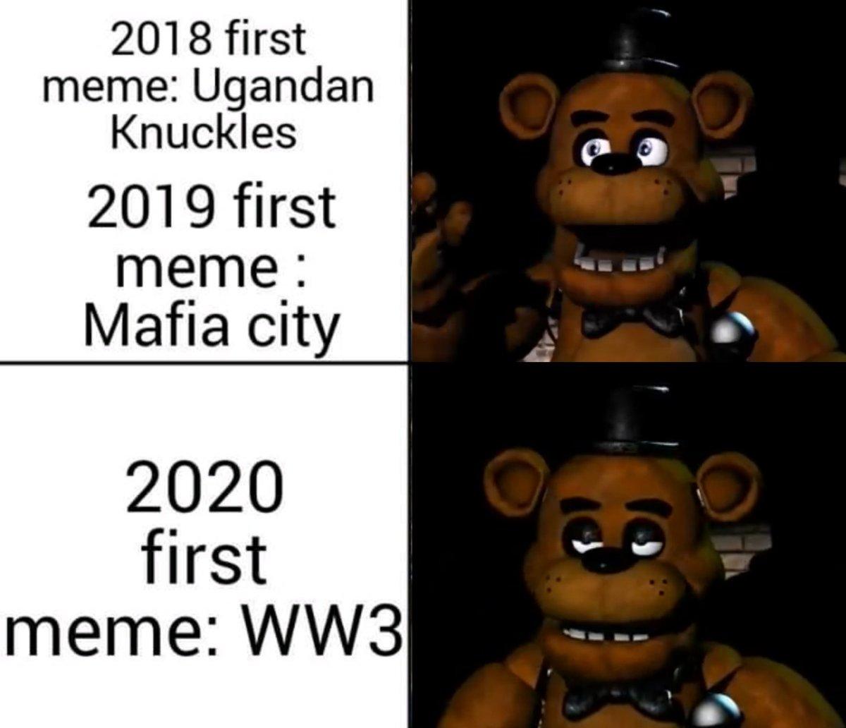 Fazbear Memes On Twitter The Sigh Freddy Is Fazbear Year S
