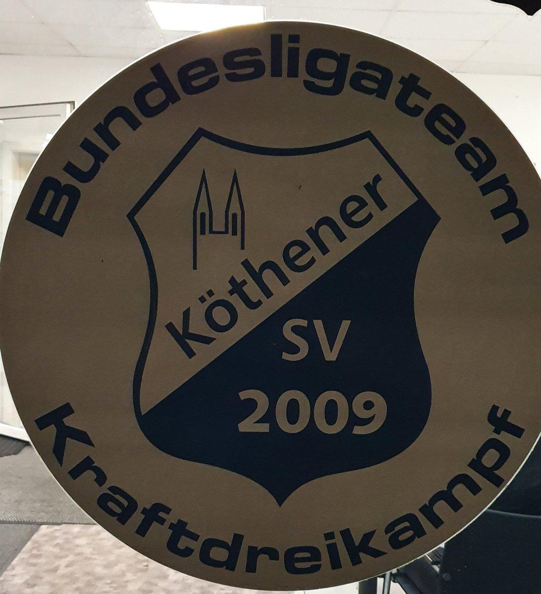 Termine für die Bundesliga im Kraftdreikampf des KSV 09 18.1. in Bautzen  04.4. in Klötze  16.5. in Köthen pic.twitter.com/KGzrITu5yw
