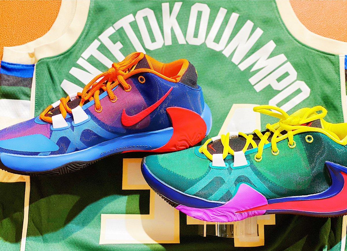 Nike Zoom Freak 1 release @NBASTORE NYC Friday, January 10th!