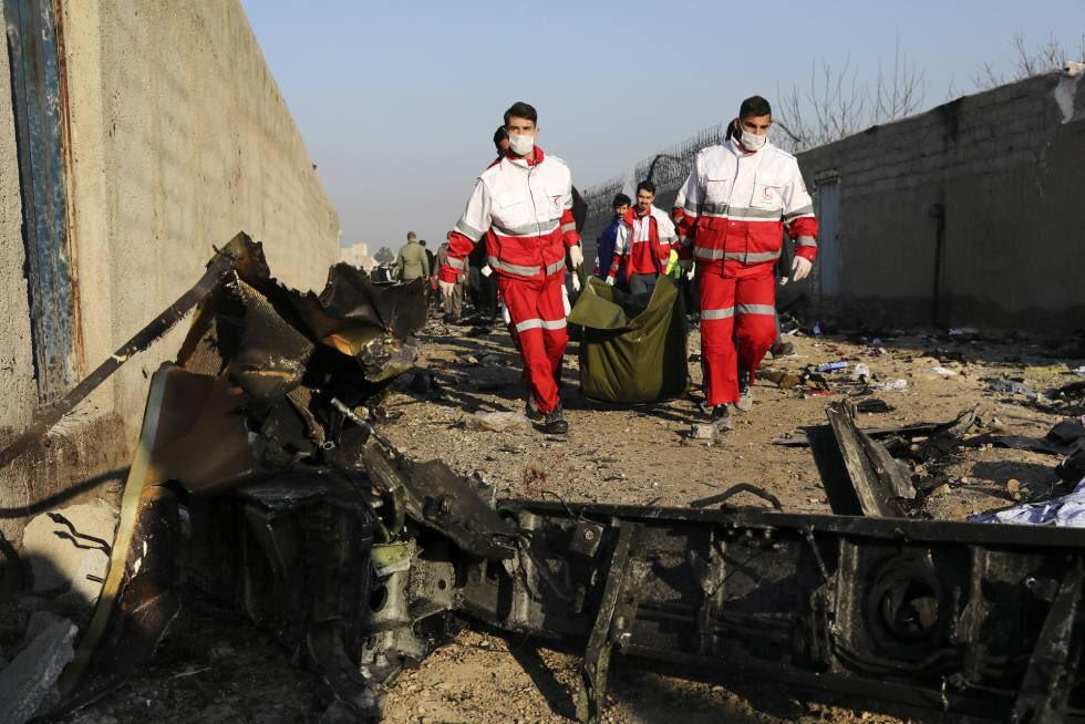 A Ucrania tras avión derribado