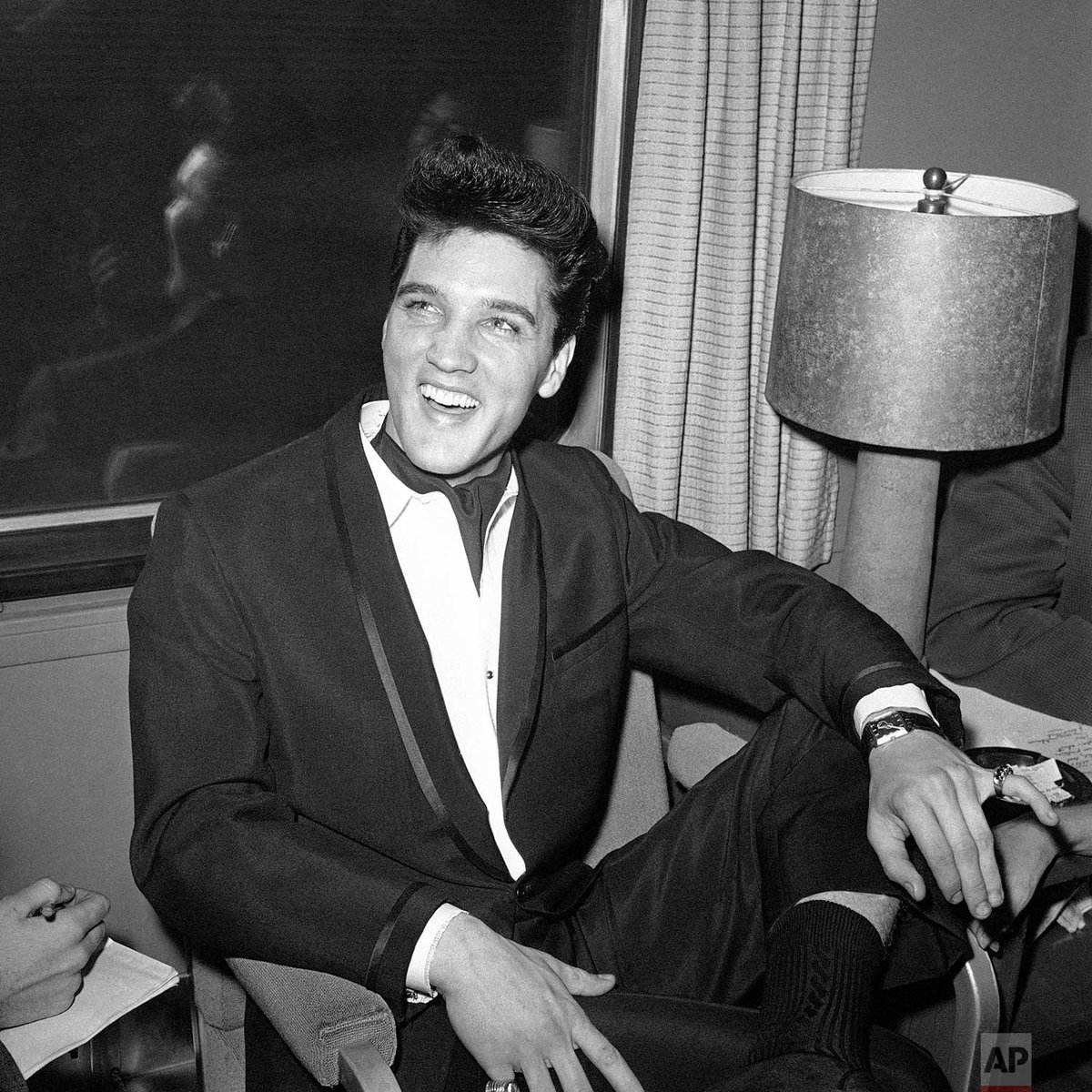 85 years ago today, rock-and-roll legend Elvis Presley was born in Tupelo, Mississippi.   Photo Harold P. Matosian