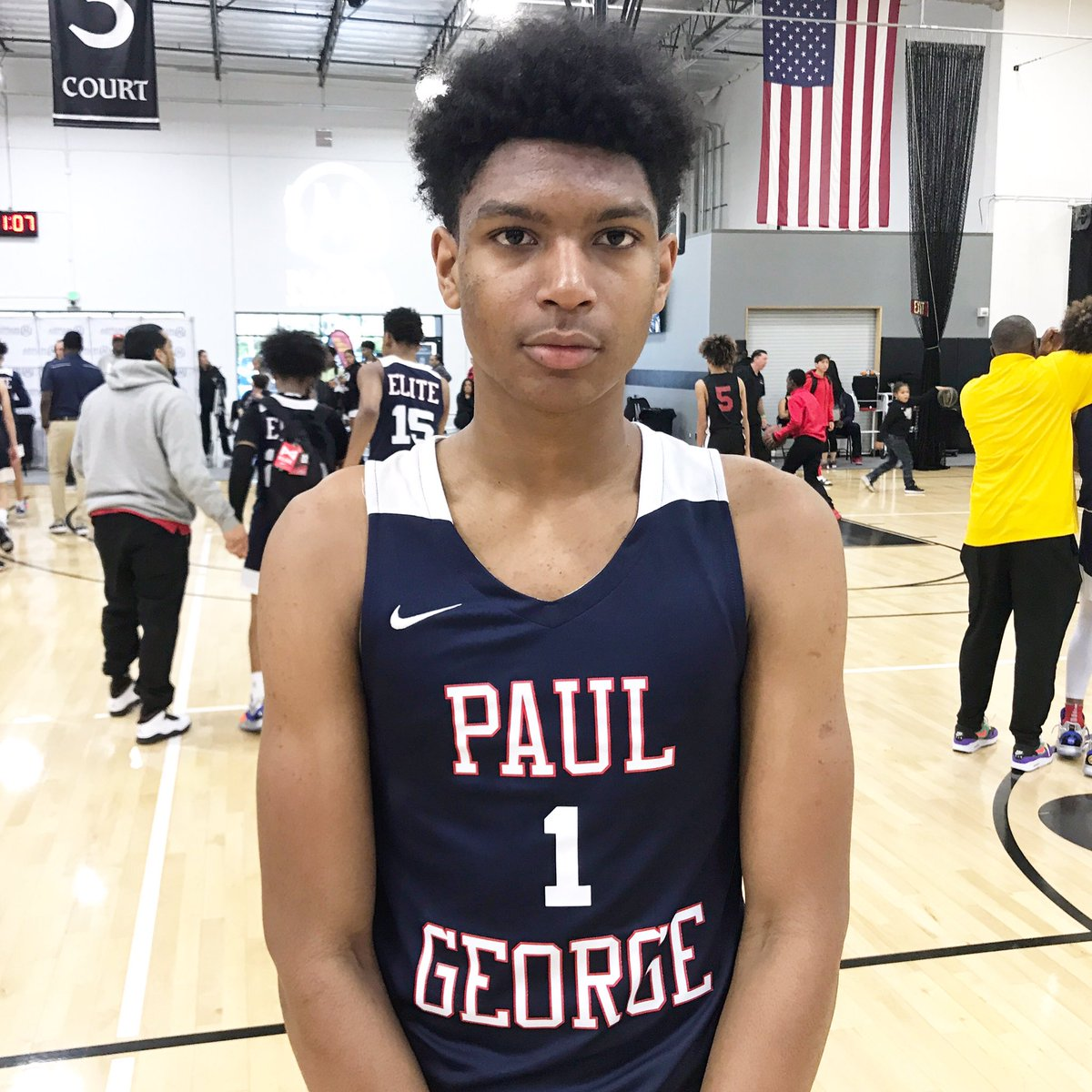 "2024 6'3"" WG Isaiah Elohim (Northridge, CA) continues to excel during #WestLea8ue play. An explosive leaper, he's been a major force on the offensive end for his team. https://t.co/UoJl4DCw9I"