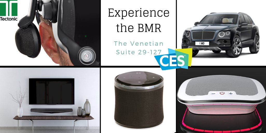 We're having a great time at #CES2020! Thanks to all who've stopped by the @VenetianVegas to experience Tectonic's BMR technology. Come see us in Suite 29-127, or contact us to learn more: https://buff.ly/32PuIAl  #smartspeakers #bluetoothspeakers #soundbars #caraudiopic.twitter.com/XqzRGlOrD1