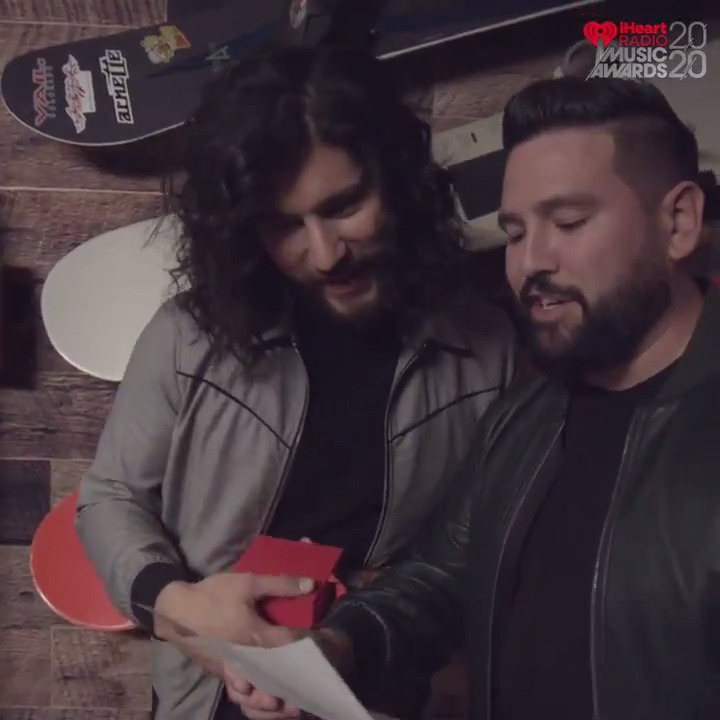 Congratulations to @DanAndShay for their 3 nominations at the 2020 #iHeartAwards! We love you! ❤️ Vote: iHeartRadio.com/Awards