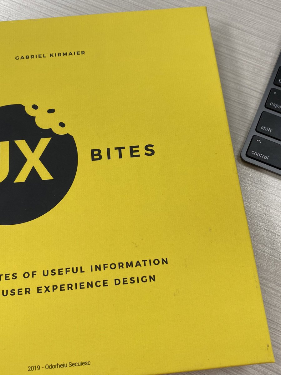 Efren Castillo On Twitter Currently Reading Ux Bites By Gabrielkirmaier What Ux Book Are You Reading