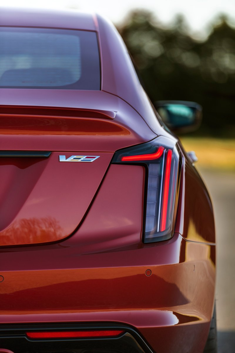 Every ounce of #Cadillac performance can be distilled down to just one letter: V. ⁣#ct5 https://t.co/hIWDPsWHYX