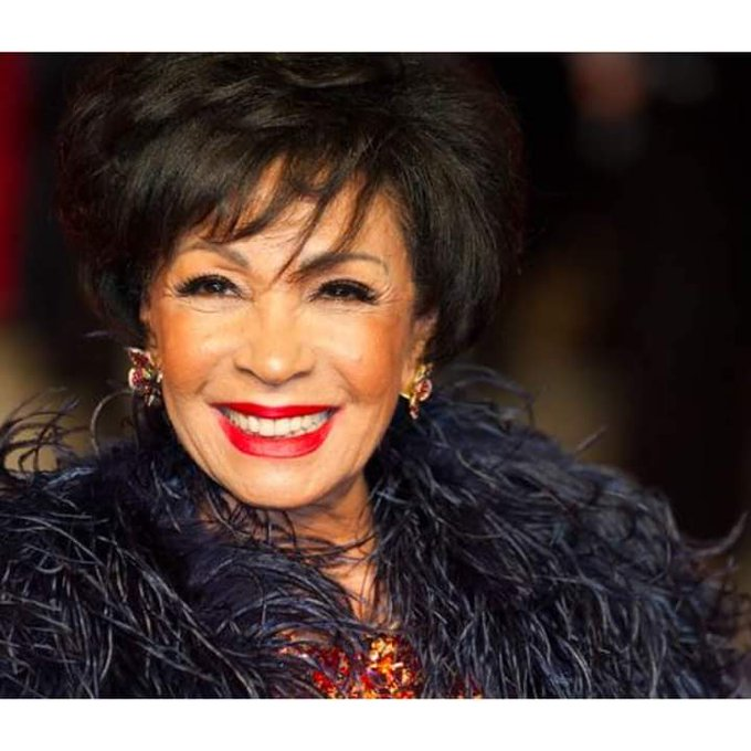 Can you believe this wonderful woman is 83 today! Happy Birthday Dame Shirley Bassey