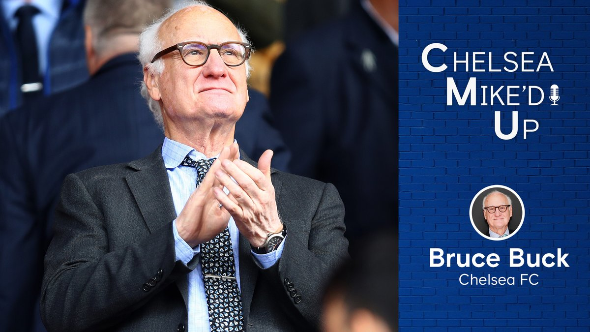 Coming your way Thursday morning, an all-new episode of #ChelseaMikedUp 🙌 We have an exclusive interview with Bruce Buck, talk transfer window, and MUCH more. Subscribe below to be ready for the drop ⤵ 🔊 Apple: bit.ly/CMU_iTunes 🔊 Spotify: bit.ly/CMU_Spotify